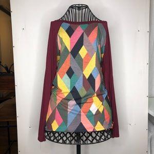 Geometric sports ⚾️ shirt